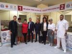 Снимка на Благоевградския отбор с Р. Калайджиев